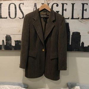 Beautiful Wool Escada Margaretha Ley 38 Sport Coat